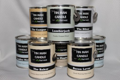 Tin Man Candles by Soy Harvest