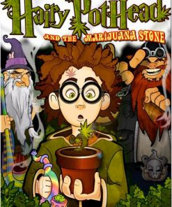Hairy Pothead Book by Dana Larsen