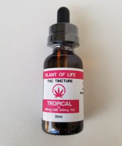 Plant of Life - THC Tincture, Pink