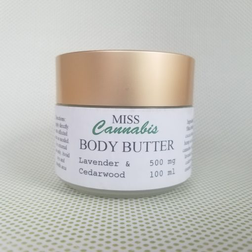 Miss Cannabis Body Butter - Lavender and Cedarwood